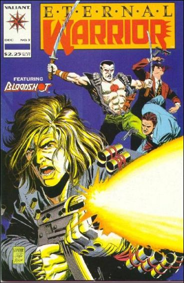 Eternal Warrior (1992) 5-A by Valiant