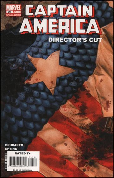 Captain America (2005) 25-E by Marvel