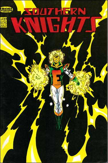 Southern Knights (1985) 27-A by Comics Interview