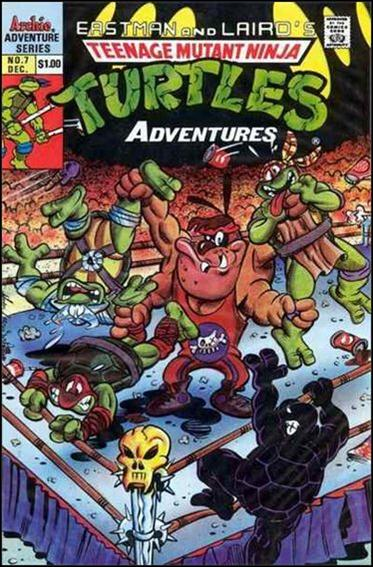Teenage Mutant Ninja Turtles Adventures (1989) 7-C by Archie