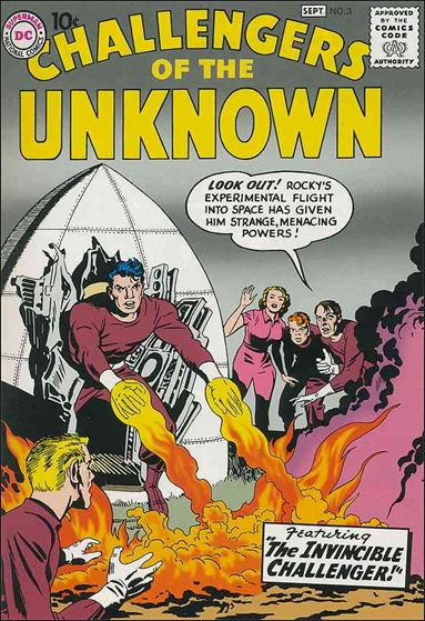Challengers of the Unknown (1958) 3-A by DC