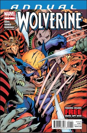 Wolverine Annual (2012) 1-A