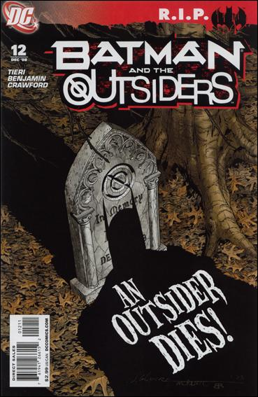 Batman and the Outsiders (2007) 12-A by DC