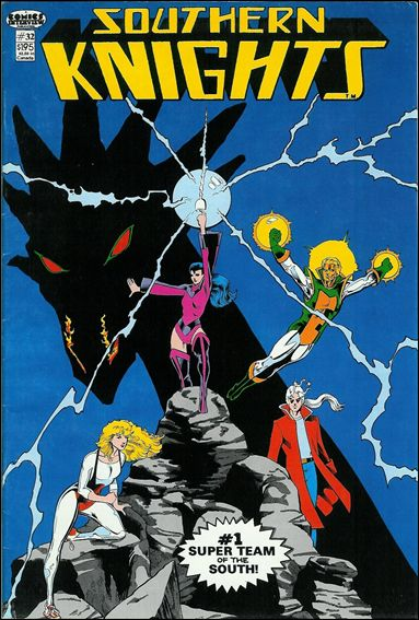 Southern Knights (1985) 32-A by Comics Interview