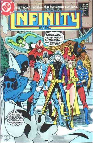 Infinity Inc. (1984) 15-A by DC