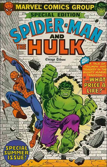 Special Edition: Spider-Man and the Hulk 1-A by Marvel