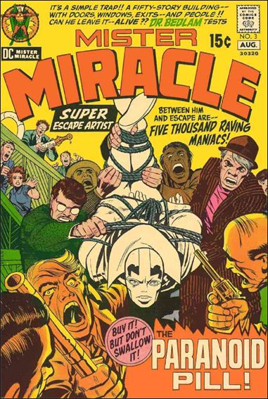 Mister Miracle (1971) 3-A by DC