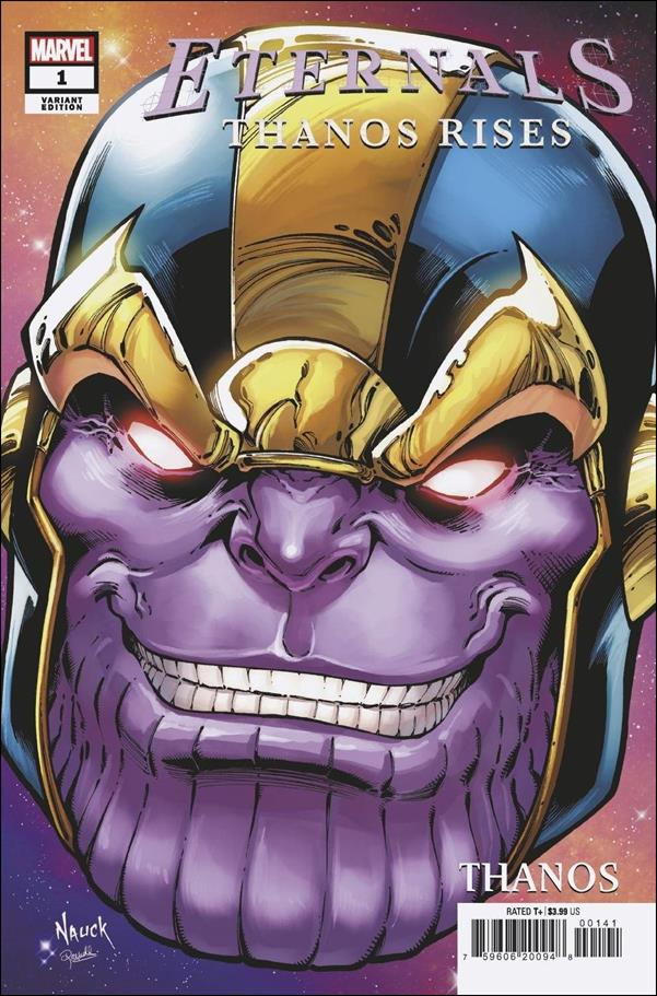 Eternals: Thanos Rises 1-D by Marvel
