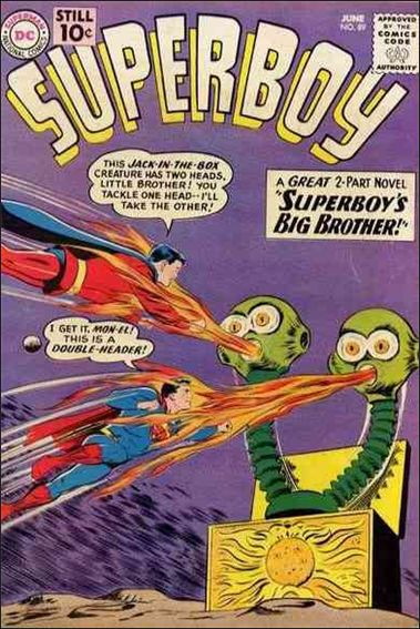 Superboy (1949) 89-A by DC