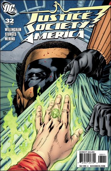 Justice Society of America (2007) 32-A by DC