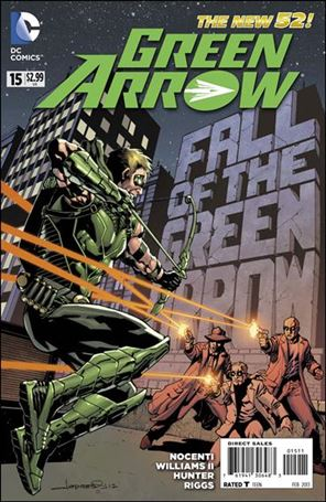 Green Arrow (2011) 15-A