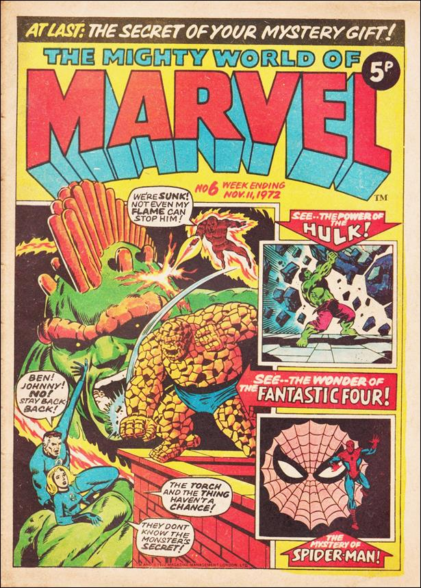 Mighty World of Marvel (UK) (1972) 6-A by Marvel UK