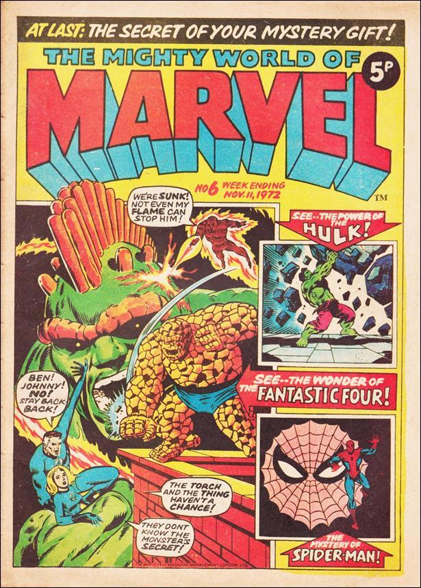 Mighty World of Marvel (UK) (1972) 6-A by Marvel UK