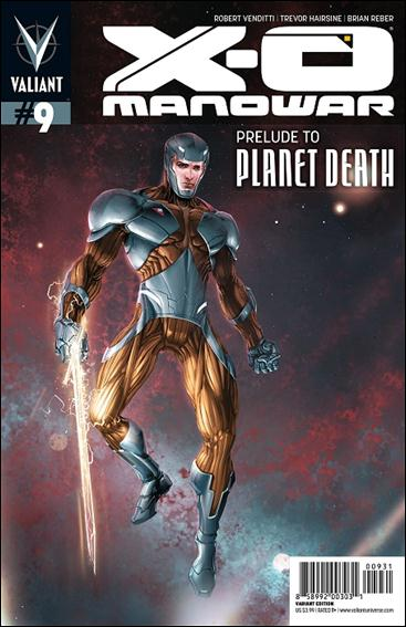 X-O Manowar (2012)  9-C by Valiant Entertainment
