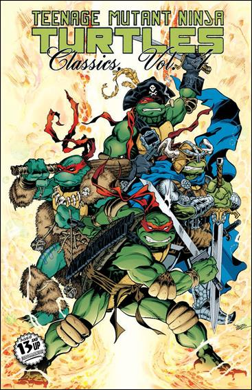 Teenage Mutant Ninja Turtles Classics 4-A by IDW