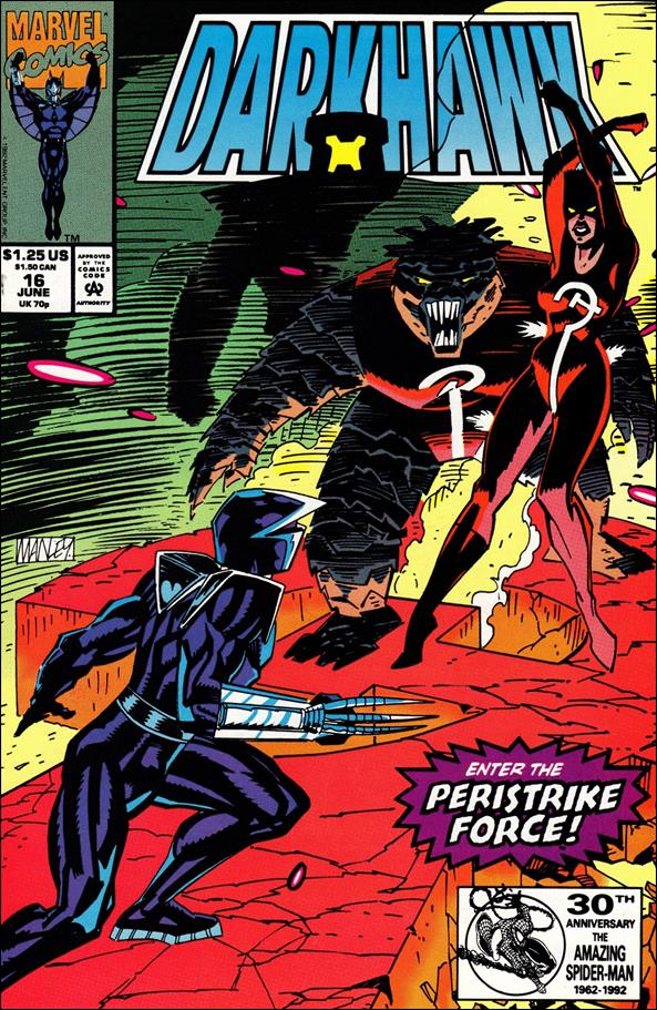 Darkhawk 16-A by Marvel