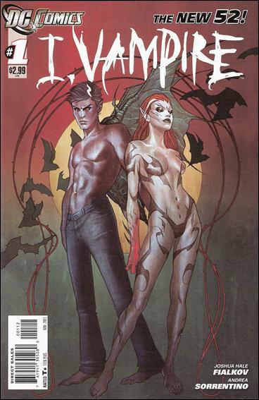I, Vampire 1-B by DC