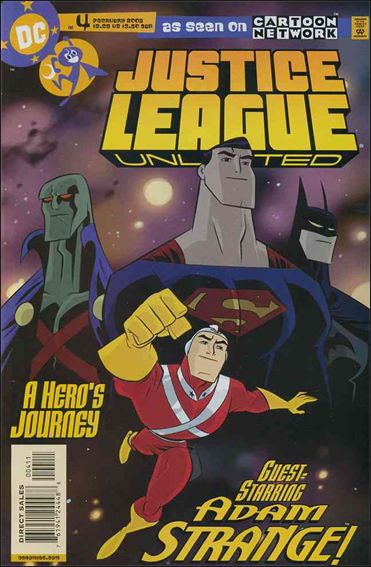 Justice League Unlimited 4-A by DC