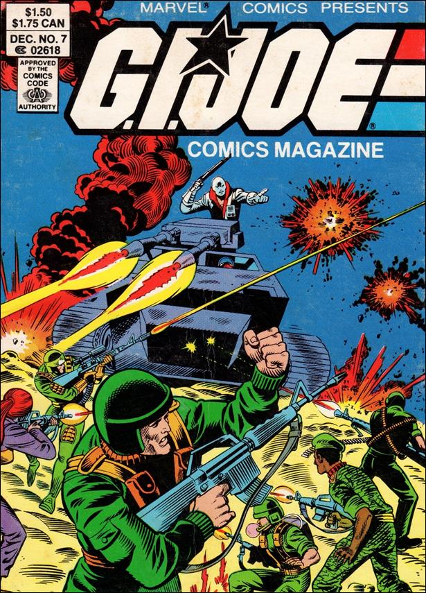 G.I. Joe: Comics Magazine 7-A by Marvel