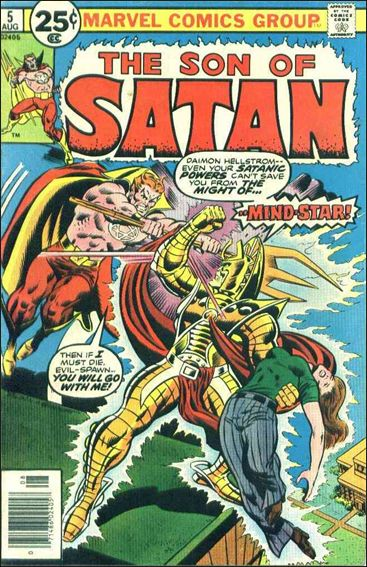 Son of Satan 5-A by Marvel