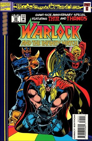 Warlock and the Infinity Watch 25-A
