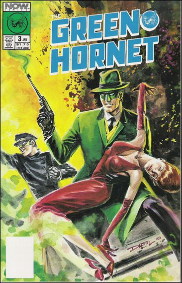 Green Hornet (1989) 3-A by Now Comics