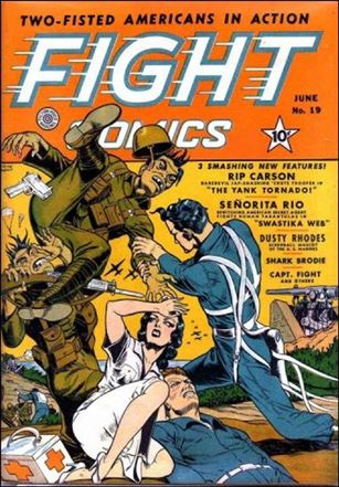 Fight Comics 19-A