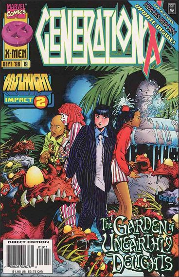 Generation X 19-A by Marvel
