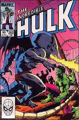 Incredible Hulk (1968) 292-A by Marvel
