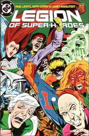 Legion of Super-Heroes (1984) 2-A by DC