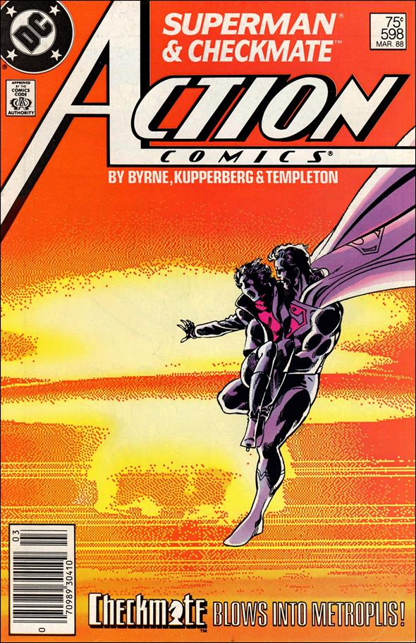 Action Comics (1938) 598-A by DC