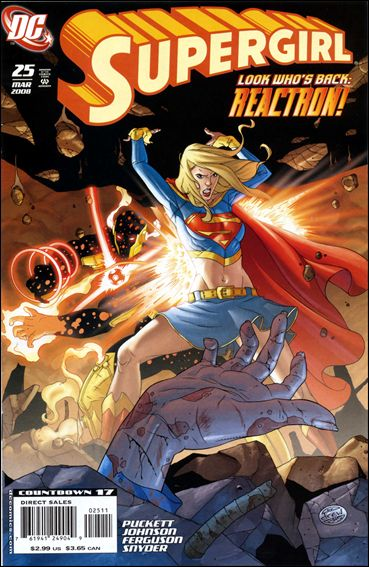 Supergirl (2005) 25-A by DC