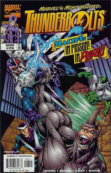 Thunderbolts (1997) 26-A by Marvel