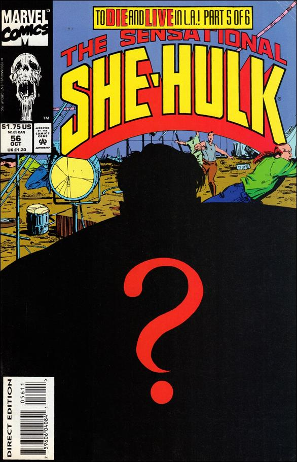 Sensational She-Hulk 56-A by Marvel