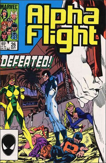 Alpha Flight (1983) 26-A by Marvel