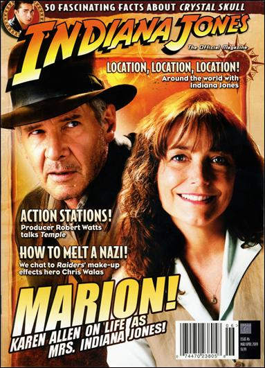 Indiana Jones: The Official Magazine 6-A by Titan Magazines