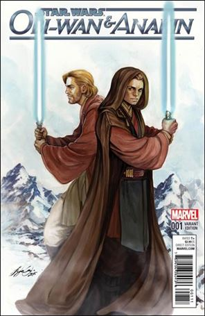 Obi-Wan and Anakin 1-D