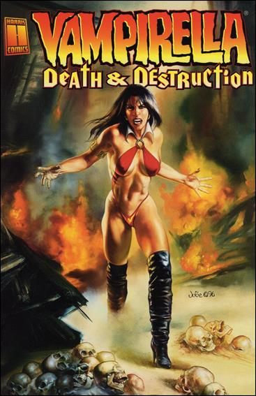 Vampirella: Death & Destruction nn-A by Harris