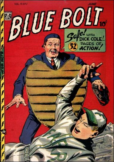Blue Bolt (1948) 1-A by Premium