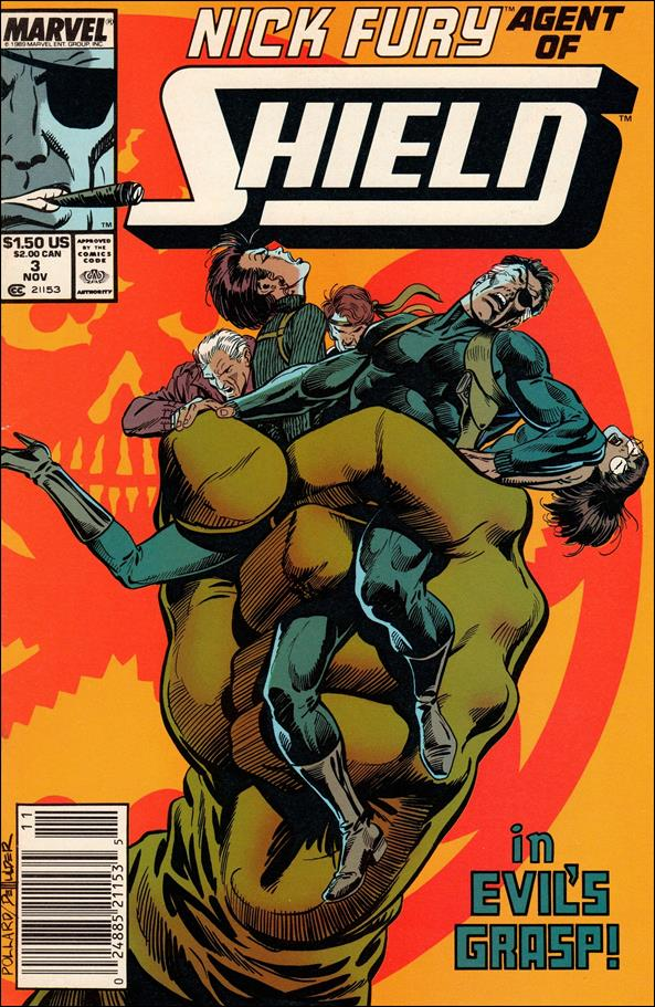 Nick Fury, Agent of S.H.I.E.L.D. (1989) 3-A by Marvel