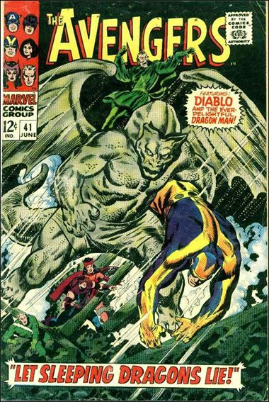 Avengers (1963) 41-A by Marvel