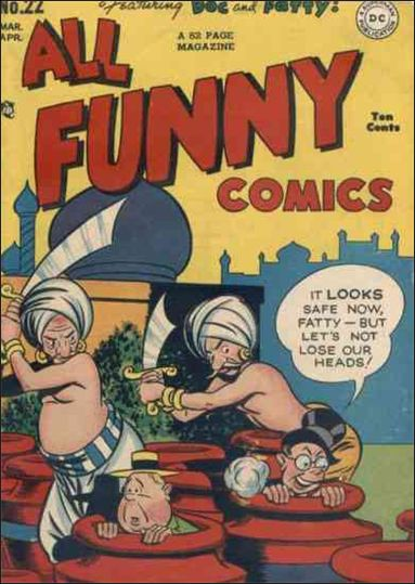 All Funny Comics 22-A by DC