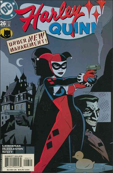 Harley Quinn 26-A by DC