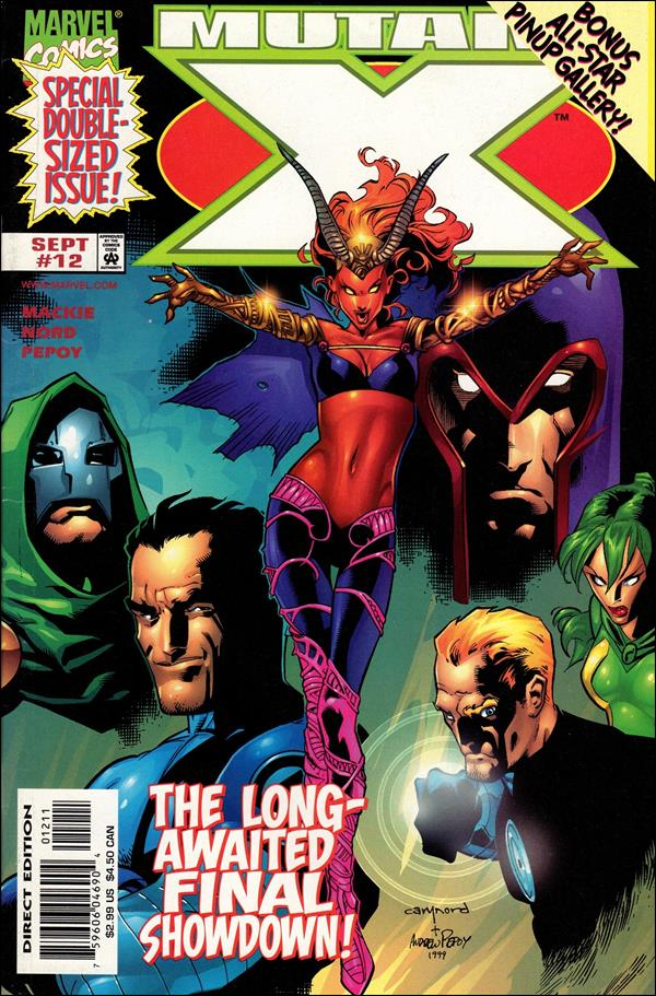 Mutant X 12-A by Marvel