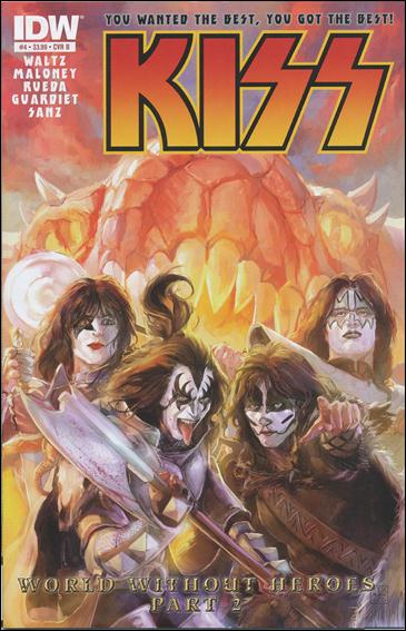 Kiss (2012) 4-B by IDW