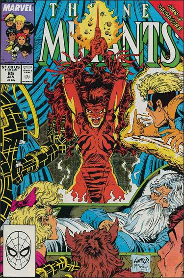 New Mutants (1983) 85-A by Marvel