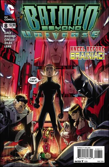 Batman Beyond Universe 8-A by DC