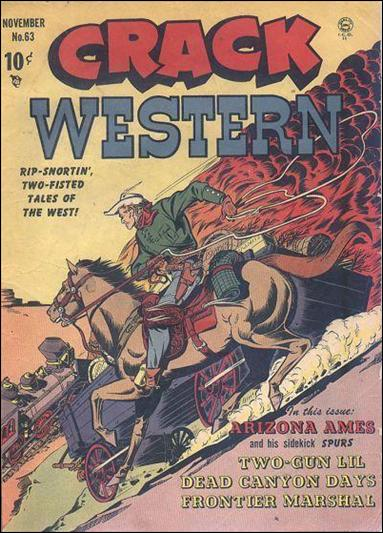 Crack Western Comics 63-A by Quality