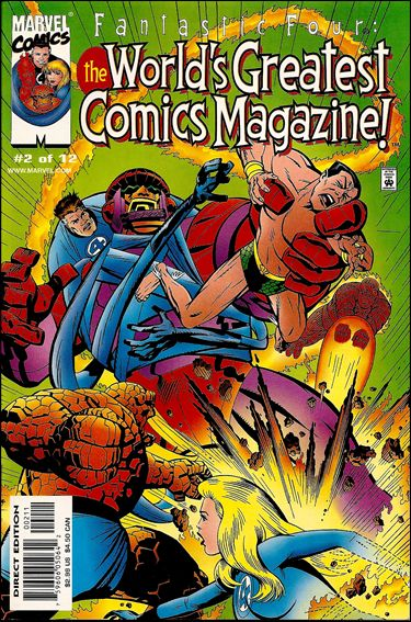 Fantastic Four: The World's Greatest Comics Magazine 2-A by Marvel