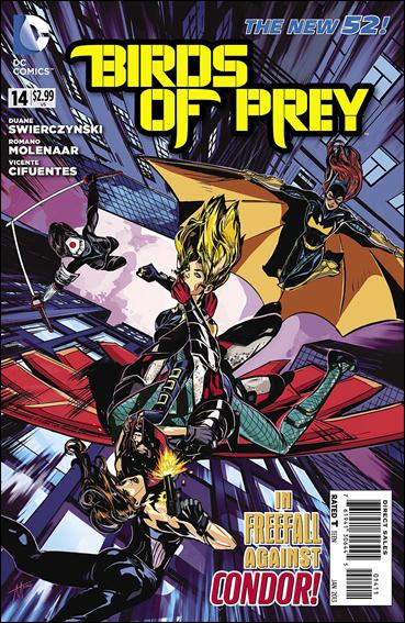Birds of Prey (2011) 14-A by DC